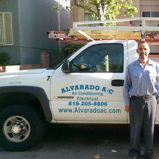 Alvarado A/C logo