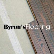 byron's flooring logo