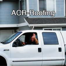 Acr Roofing logo