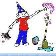 Magic Maids Janitorial logo