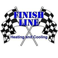 Finishline Heating and Cooling logo