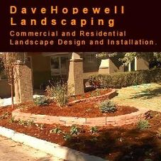Dave Hopewell Landscape Services logo