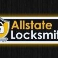 Allstate Locksmith and Garage door logo