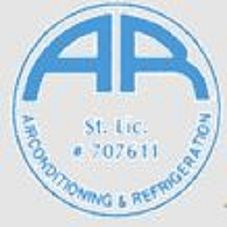 A R Air Conditioning logo