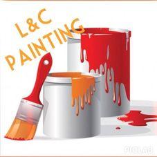 L&c painting logo